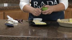 Add lime shavings.