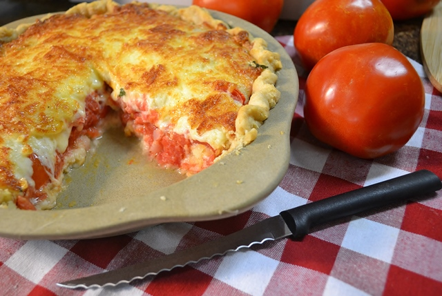 Tomato Pie Recipe | Garden Tomato Recipes