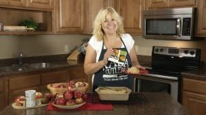 Finished Apple Cobbler Recipe