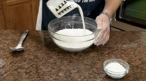 Add buttermilk.