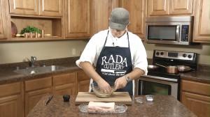 Mix the pork rub together.