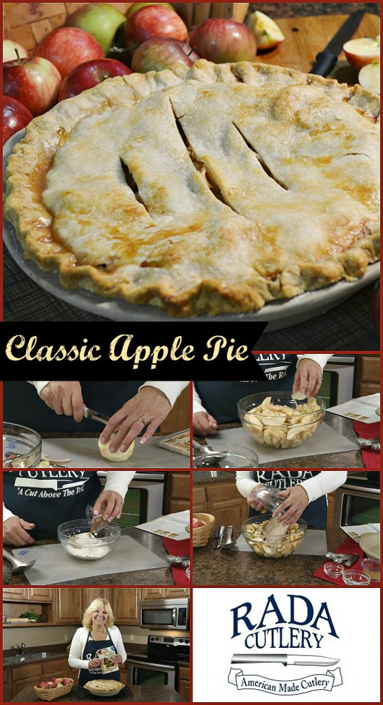 Classic Apple Pie Collage