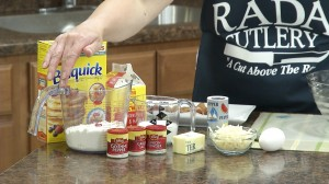 Ingredients need to make Mini Bacon and Egg Quiches