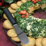 Party Cheese Wreath