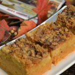 Pumpkin Pie Dessert made with Rada Cutlery products.