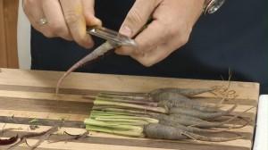 Prepare carrots
