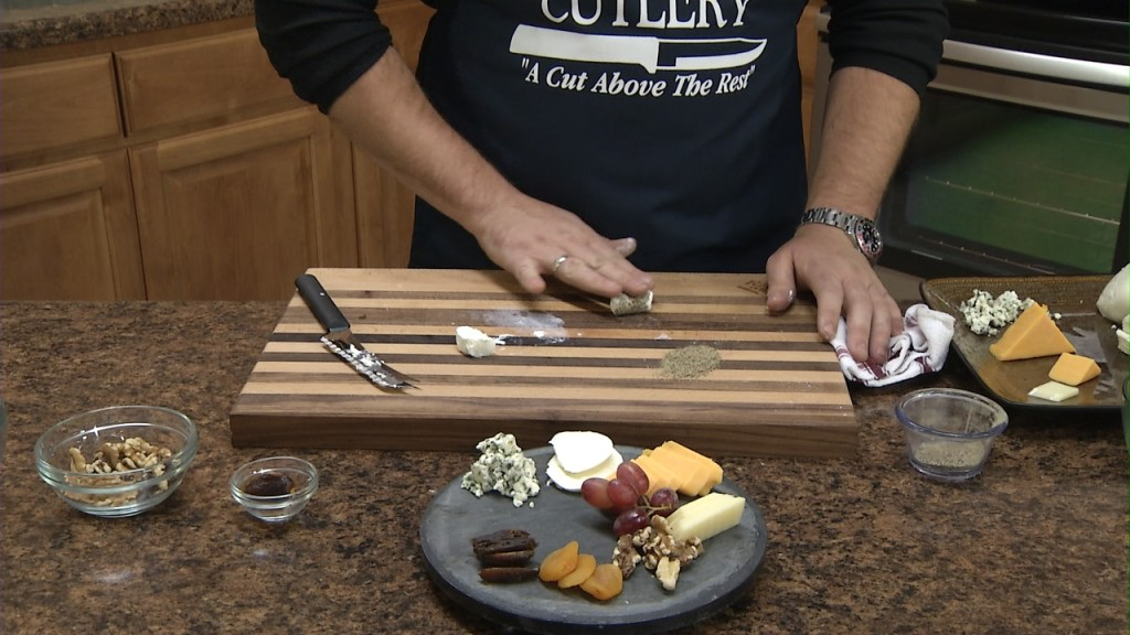 Building a Cheese Tray