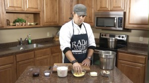 Ingredients for Maple Bacon Polenta