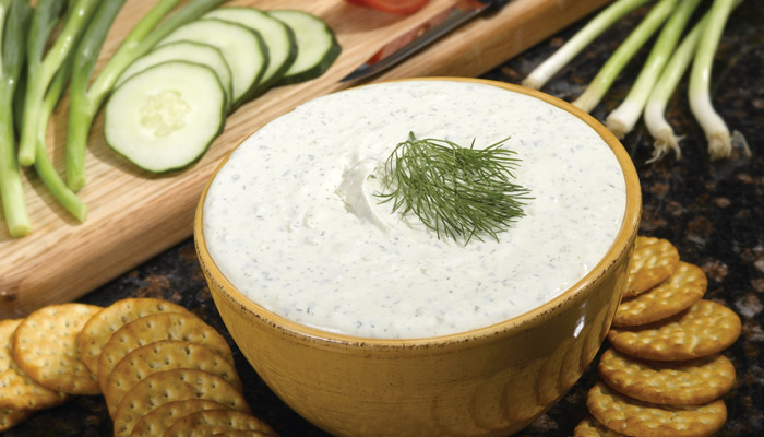 Dill-licious: Recipes Made with Rada's Cucumber Onion Dill Dip Quick Mix