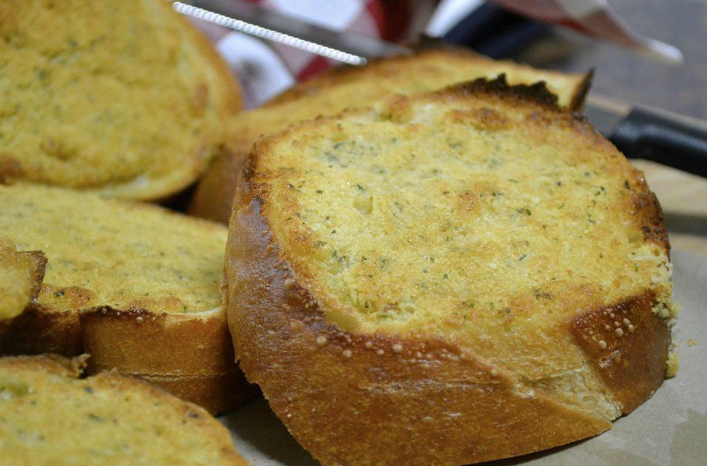 Garlic Parmesan Bread & Spread | Easy Garlic Bread Recipe