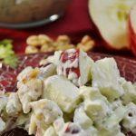A tasty Waldorf Salad made with Rada Cutlery products.