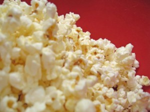 A pile of delicious popcorn!