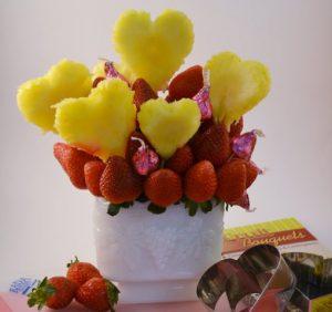 Sweet Kisses Fruit Bouquet