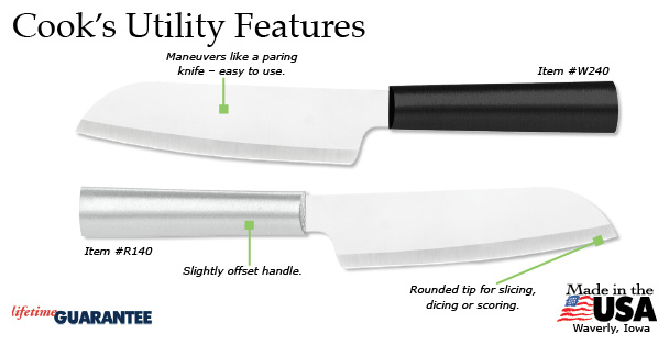 The great features of this Cook's Utility Knife