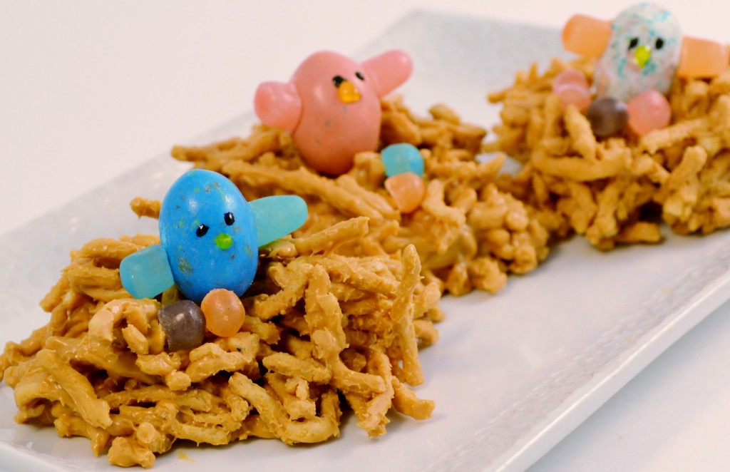 Bird's Nest Noodle Treat | Peanut Butter Chow Mein Cookies Recipe