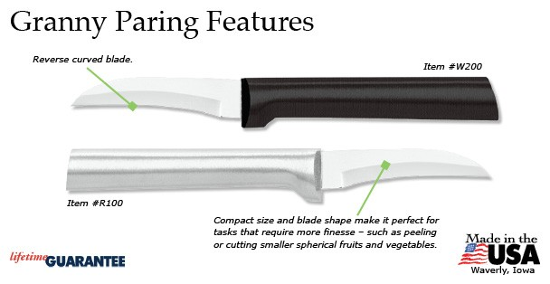Granny Paring Knife Features