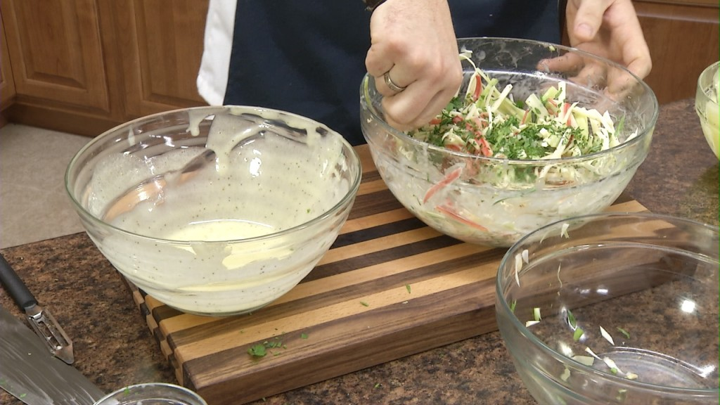 How to Make Jicama Slaw | Jicama Coleslaw