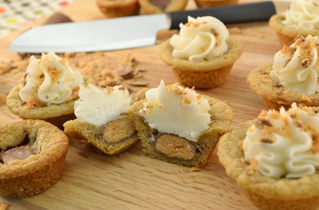 Candy Bar Stuffs Recipe | Butterfinger Filled Cookies Recipe
