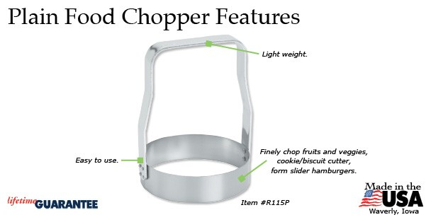 Plain Food Chopper Features