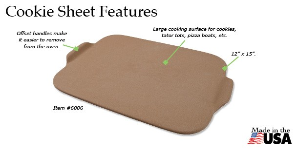 Rada Cookie Sheet Features
