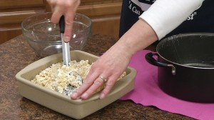 Rice Krispe Treats in pan
