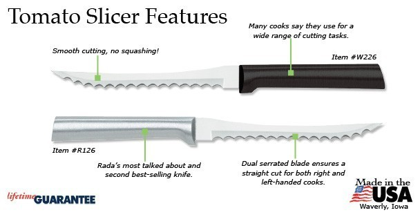 Rada Tomato Slicer knife
