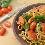 Asian Pasta Salad and a Rada Tomato Slicer.