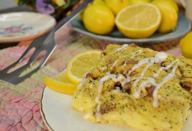 Sunshine Lemon Coffee Cake | Lemon Breakfast Recipe