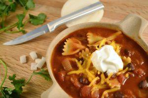 Taco Bowtie Soup