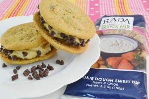 Incredible Frozen Chocolate Chip Cookie Dough Cookies