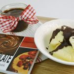 A delicious fudge sauce along with Rada's 101 Recipes with Chocolate cookbook.