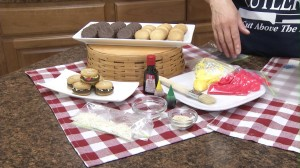 Hamburger Cookies Ingredients