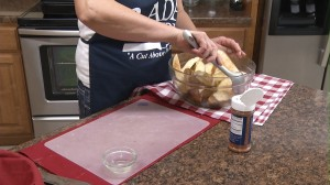 Oven Baked Potato Wedges pic 6