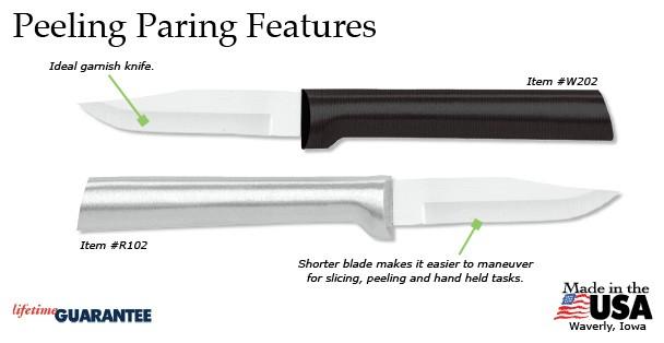 Rada Peeling Paring Knife
