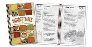 Rada Unforgettable cook book
