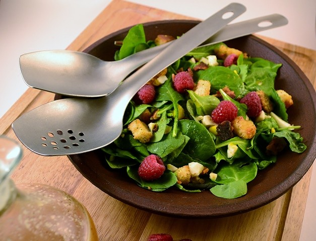 Spinach Salad with Homemade Dressing | Sweet and Sour Salad Dressing Recipe