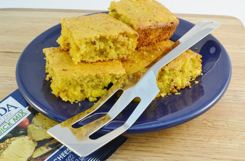 Easy Jalapeno Cornbread | Spicy Cheese Corn-Bread Recipe