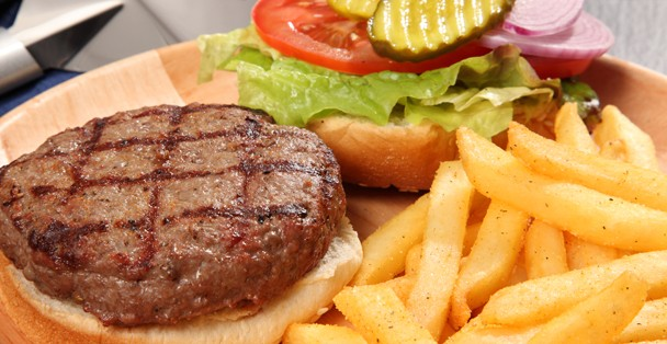 Burger and Fries made with Rada Seasoning will blow you away!