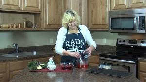 Kristy with gelatin