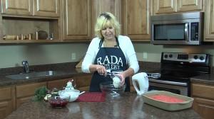 Preparing cream