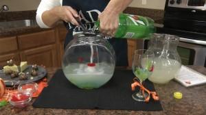 Adding soda
