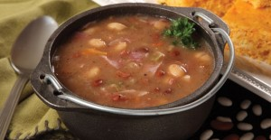 Rada's delicious Hearty Ham and Bean Soup Quick Mix is something every dad will love!