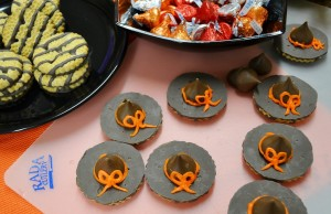 Witch's Hat Chocolate Cookies