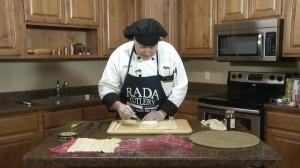 Cutting Brie