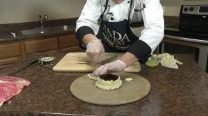 Preparing pastry crust