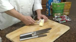 Cutting butter