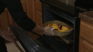 Putting squash back into heat