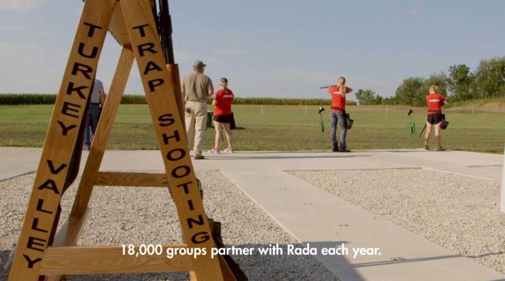 Trap Shooters Fundraise with Rada