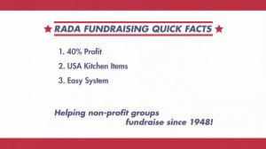 3 Reasons to Choose Rada Cutlery for your next fundraiser!