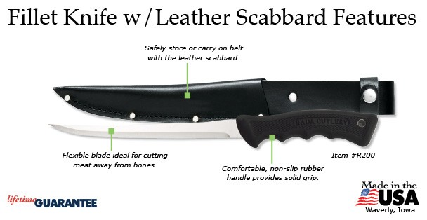Rada Fillet Knife Features
